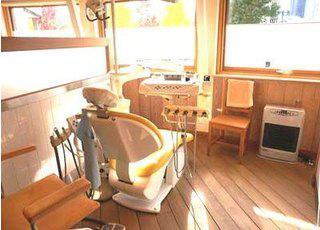 つちだ矯正歯科クリニック 診療台