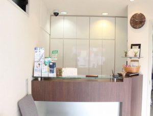 南ときわ台歯科インプラントセンター 受付