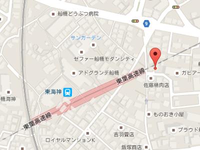 東葉デンタルオフィス 地図