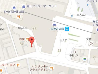 川上歯科医院地図