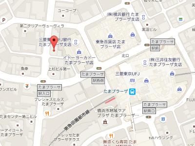 川本歯科クリニック 地図