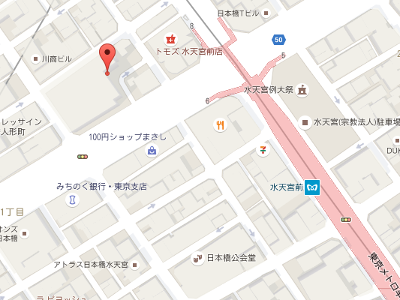 みなと歯科リガーレ日本橋人形町 地図