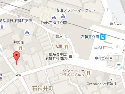 澤村歯科医院地図