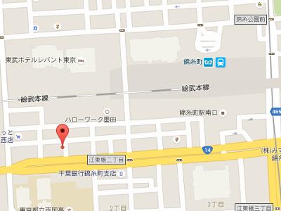 錦糸町スマイル歯科クリニック 地図