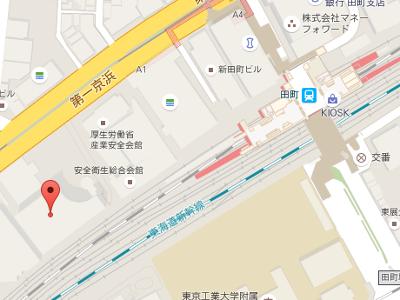三田パーク歯科クリニック 地図