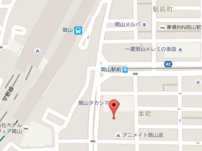 田中矯正歯科医院 地図