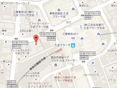 プラーザ駅前歯科クリニック 地図