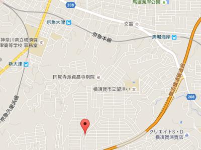 湘南山手歯科医院 地図