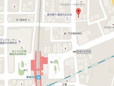 高座渋谷歯科クリニック 地図