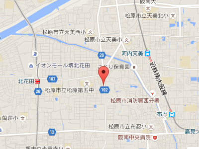 中村デンタルクリニック 地図