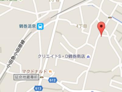 鶴巻ファミリー歯科 地図