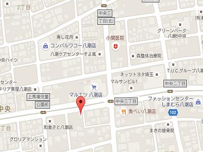 おおいし歯科医院map