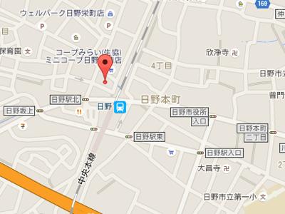 日野新町歯科医院map