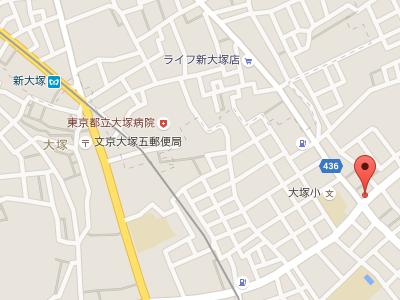 髙橋歯科クリニック文京 地図