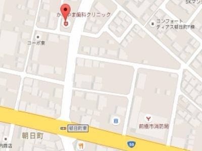 かなやま歯科クリニックmap
