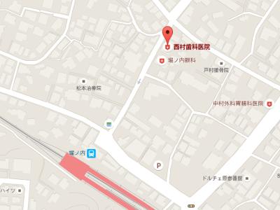 西村歯科医院 地図