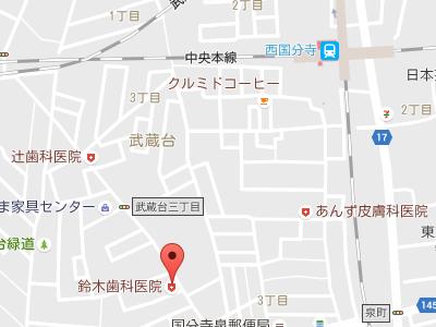 鈴木歯科医院 地図