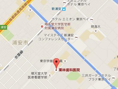 栗林歯科医院 地図
