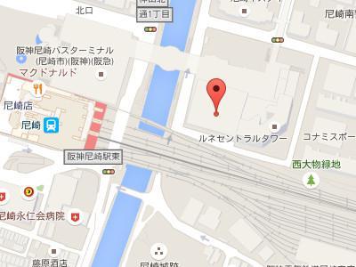 花田矯正歯科map