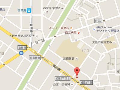 なかじま歯科医院 地図