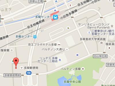 田中歯科医院本院map