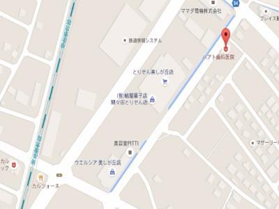 ハート歯科医院map