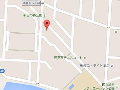 西葛西マリーナ歯科医院地図