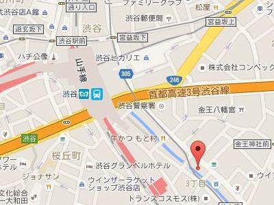 バイオクリニック東京地図
