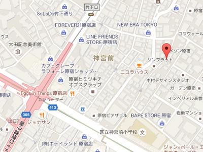 メディカルパレットデンタルオフィス&カウンセリングオフィス 地図