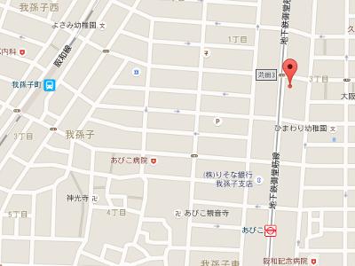 なかの歯科クリニック 地図
