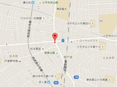 上水本町デンタルmap
