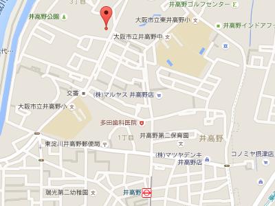 みことデンタルクリニック 地図