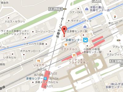 九重歯科多摩map
