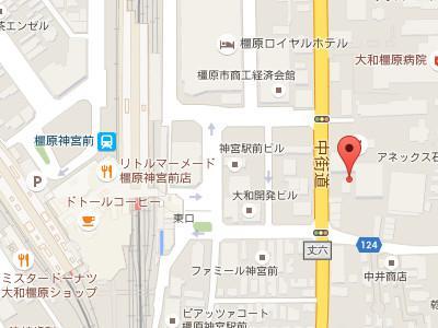 橿原デンタルクリニックmap