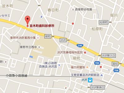 並木町歯科診療所 地図