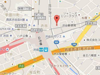 渋谷宮益坂歯科 地図