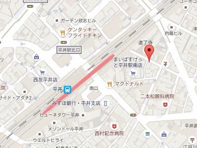 空港口24時間歯科・小児歯科医院 江戸川分院 地図