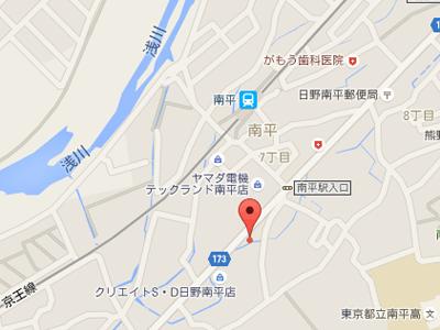 みなみ平歯科map