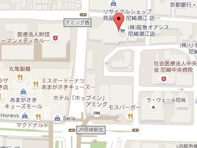 やすらぎ歯科医院map