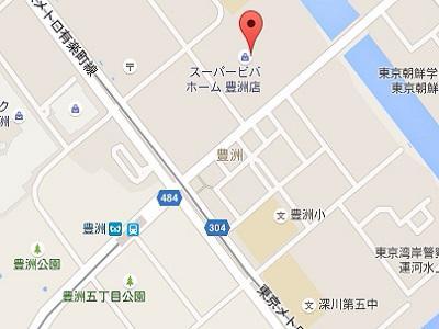 槙原歯科 豊洲インプラントセンターmap