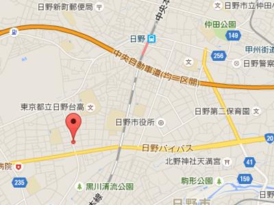 堀井歯科医院map