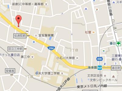 小石川歯科クリニック 地図