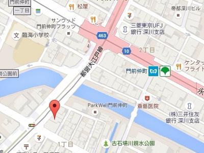 ロータス歯科医院map