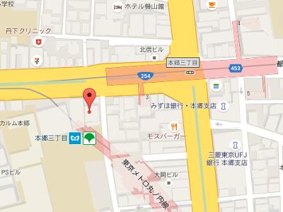 本郷三丁目鈴木歯科 地図