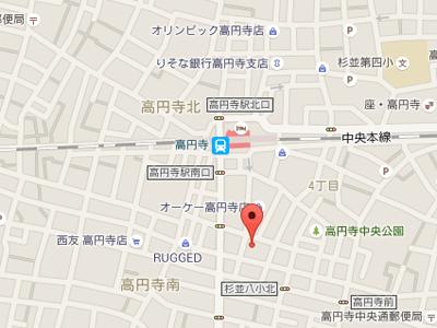 ひらの歯科map
