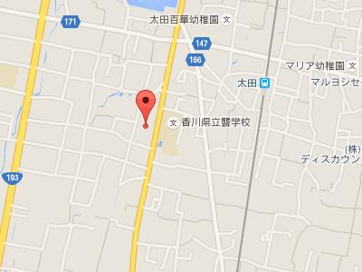 デンタルステーションアップル歯科医院 地図