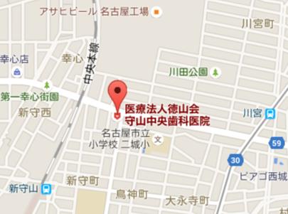 守山中央歯科医院 地図