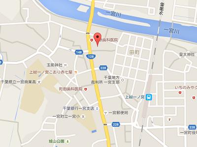 清水歯科医院地図2