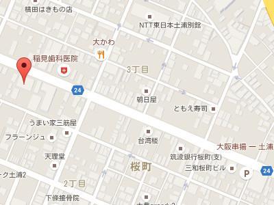 みらい歯科医院map