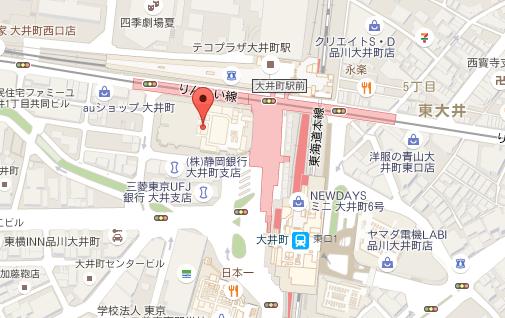 ABCユリ歯科医院 地図